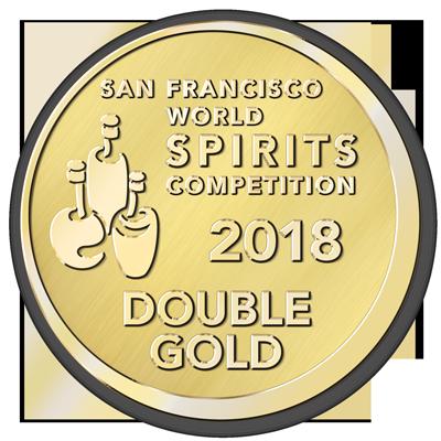 Original Dark : San Francisco World Spirits Competition 2018, Double Gold Medal, USA