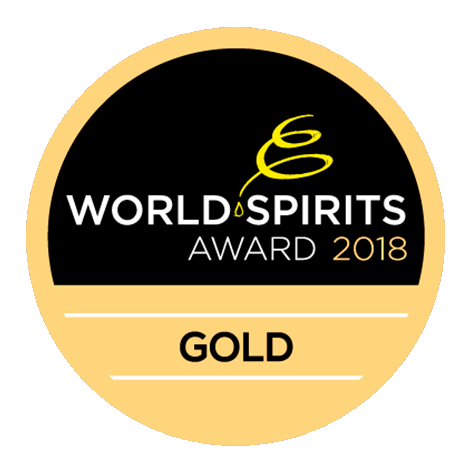 Original Dark : World Spirits Award 2018, Gold Medal, Austria