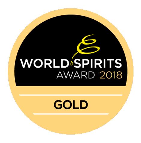 Original Dark : World Spirits Award 2018, Gold Medal, Austria