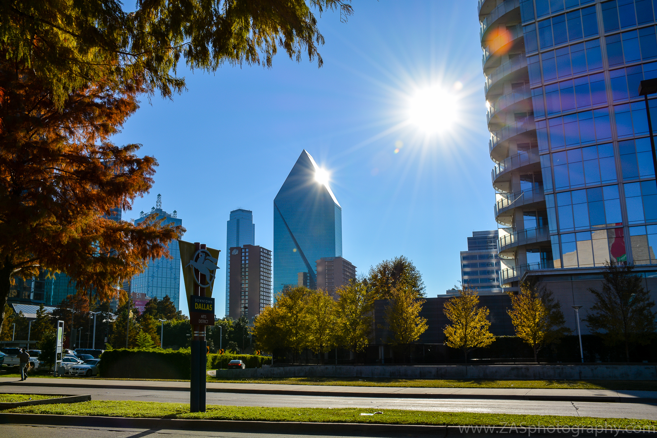 Downtown Dallas, TX.