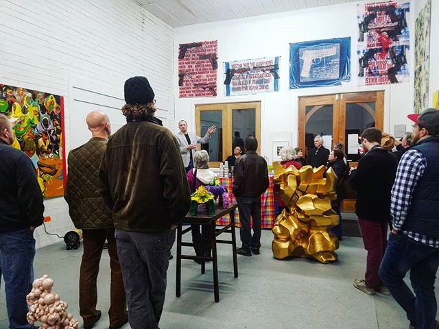 #art talks in @shenmoca. #strasburgva #culture #bigthingsinsmalltowns