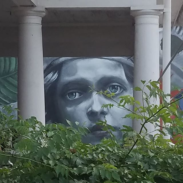 The newest mural by @lulagoce coming soon. - - - #mural #muralism #art #streetart  #streetartist #publicart #art #artist #paint #painting #spraypaint #nofilter #strasburgva