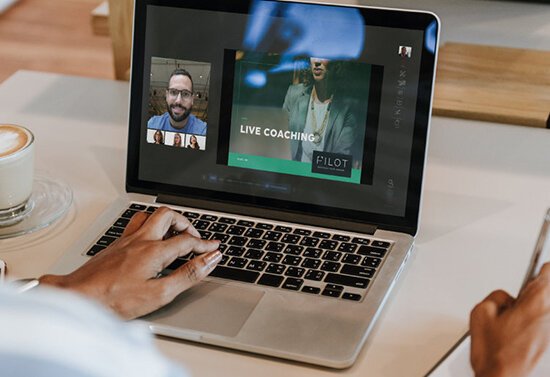 Monthly Live-Video Group Coaching - Employees get energized & empowered with powerful group coaching (recorded for those who miss it).