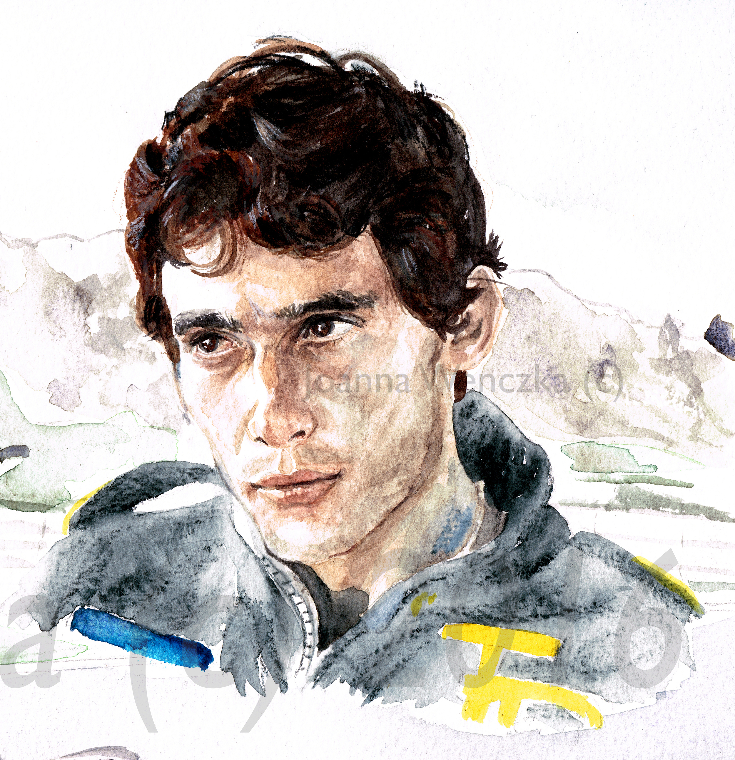 Senna Close up