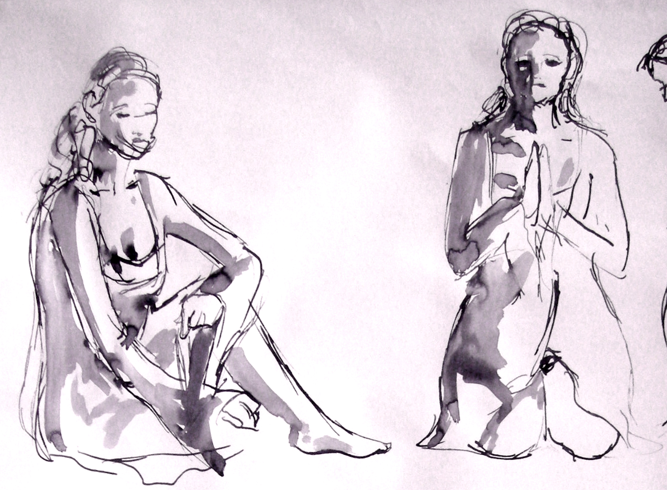 Life Drawing Quick Poses
