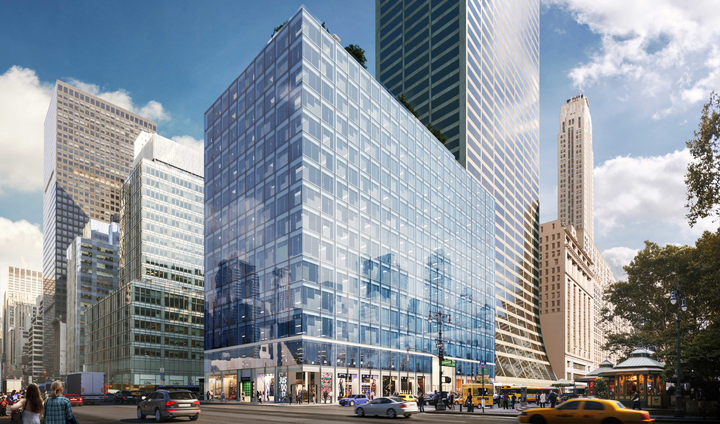 1101 AVENUE OF THE AMERICAS - BROOKFIELD