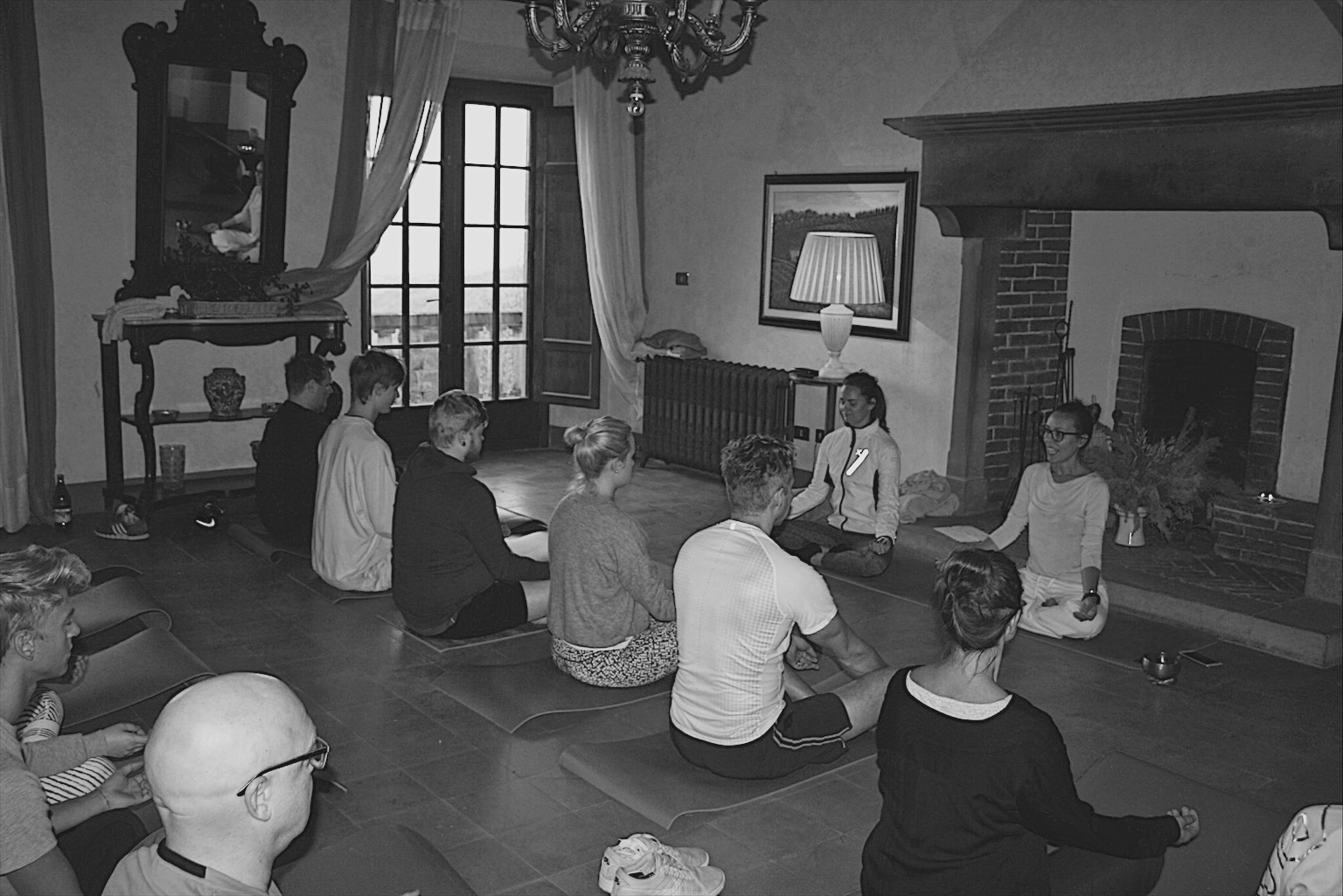 yoga/pilates - with lunch -