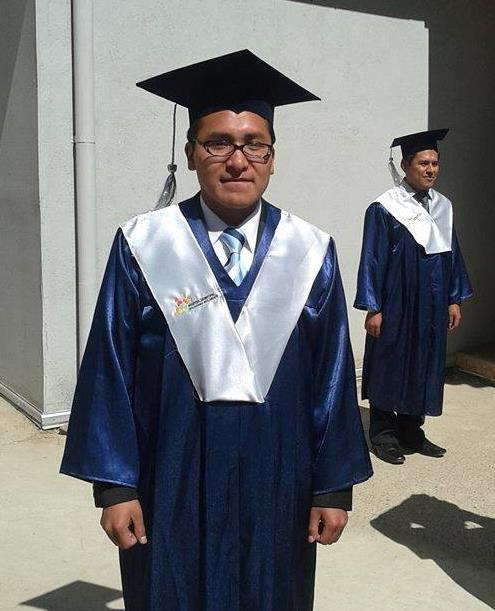 Ramiro at his graduation as a Medical Doctor.
