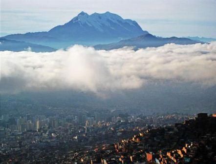 La Paz city, which is one of 28 most marvellous cities of the world.
