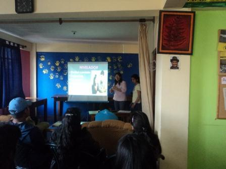Maria´s and Nathaly´s presentation about communication within family.