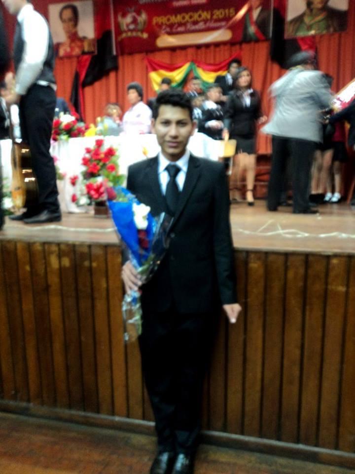 Winsor's pre-graduation ceremony of high school.