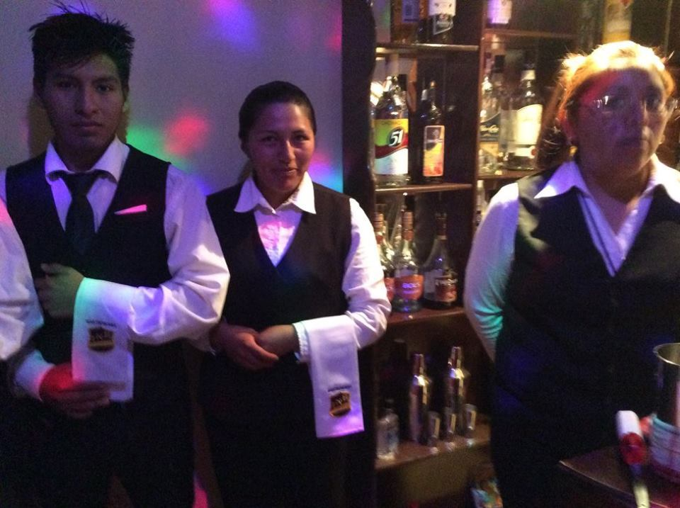 Congratulations, Ximena, on her successful Barman exam as part of your Gastronomy course.
