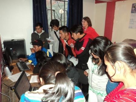 Computer workshop.