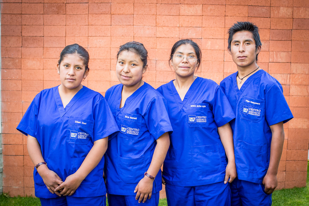 Our Assistant Nursing students who won scholarships from HOPE Worldwide.