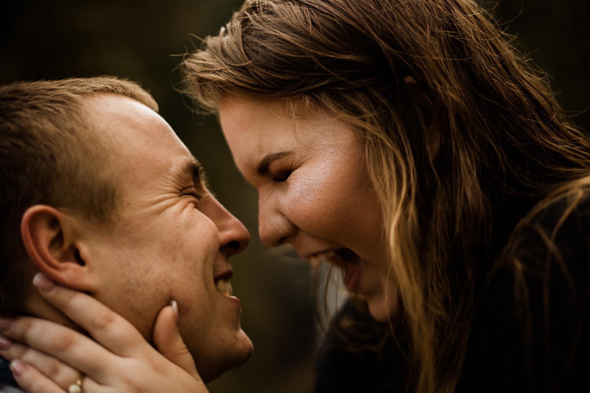 Adorable Latourell Falls Couple Session