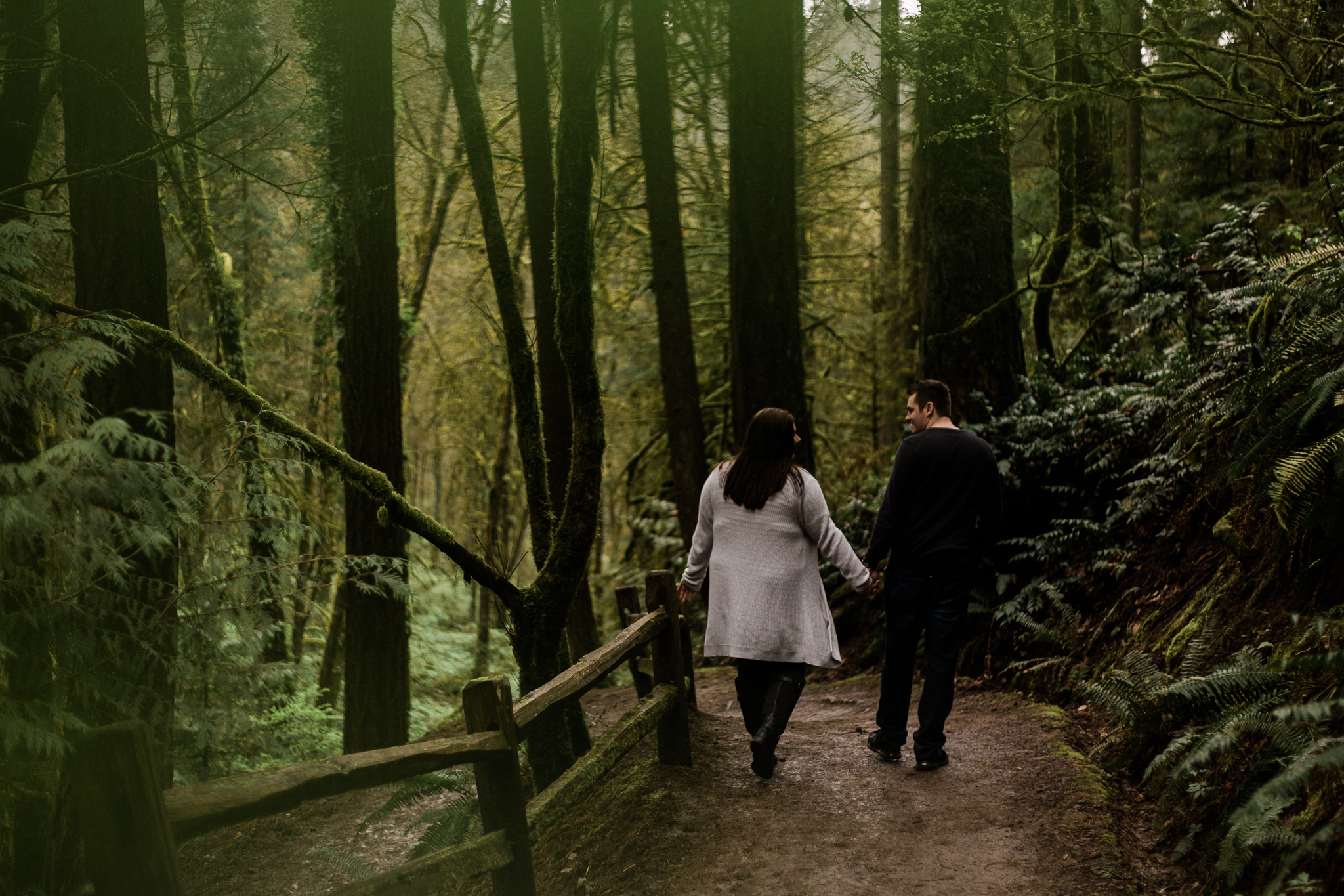 Twilight Inspired Forest Engagement