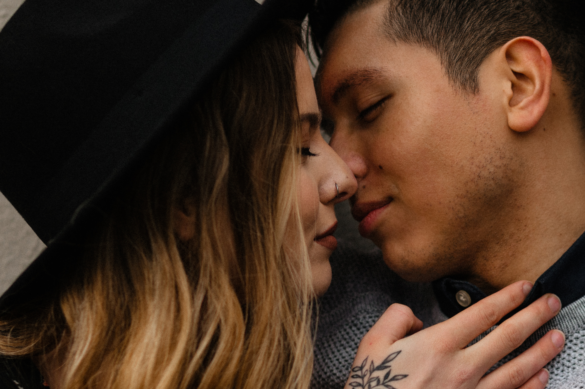 Downtown Urban Couple Session -  Malina Rose Photography_-10.jpg
