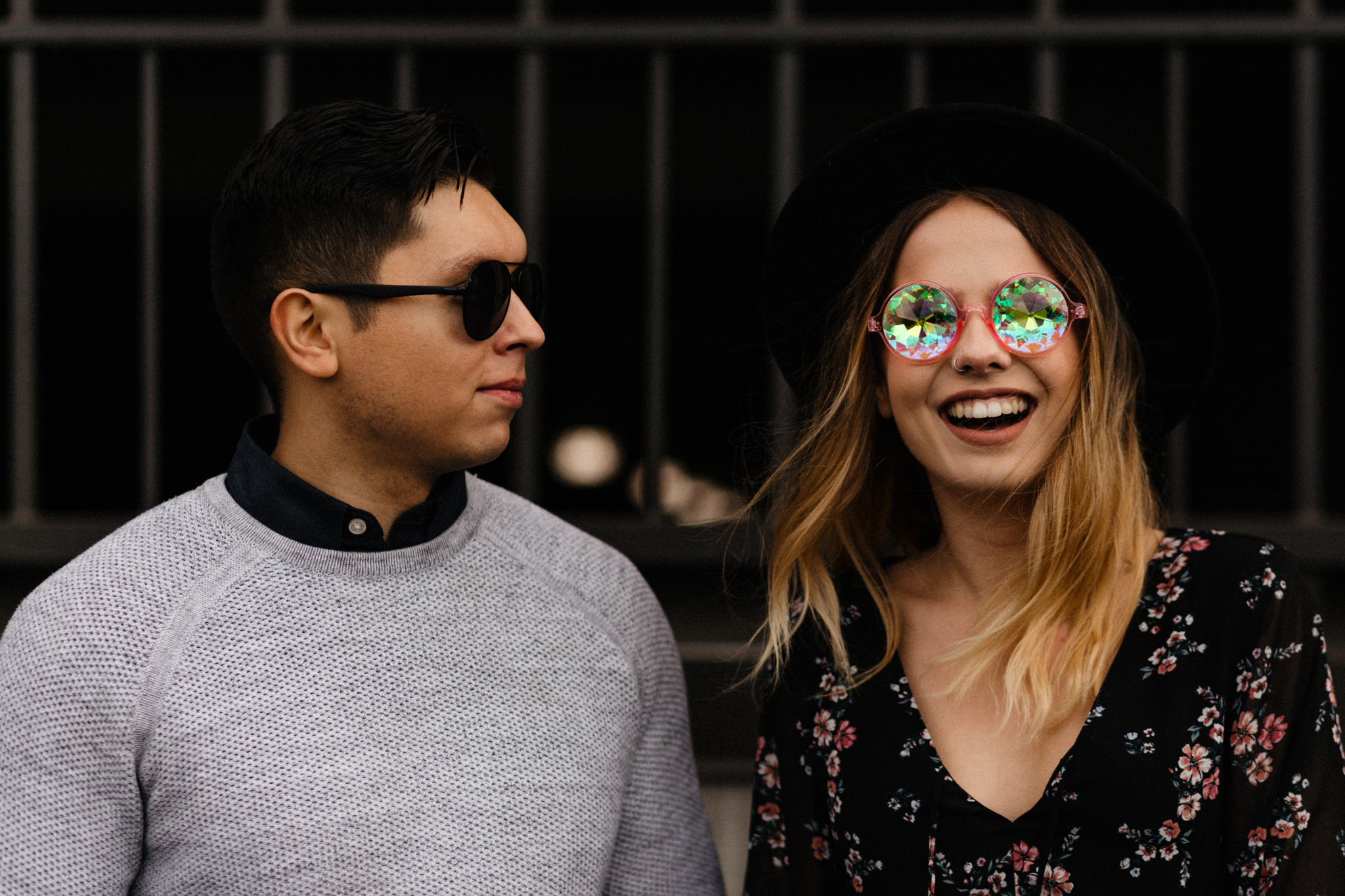 Downtown Urban Couple Session -  Malina Rose Photography_-12.jpg