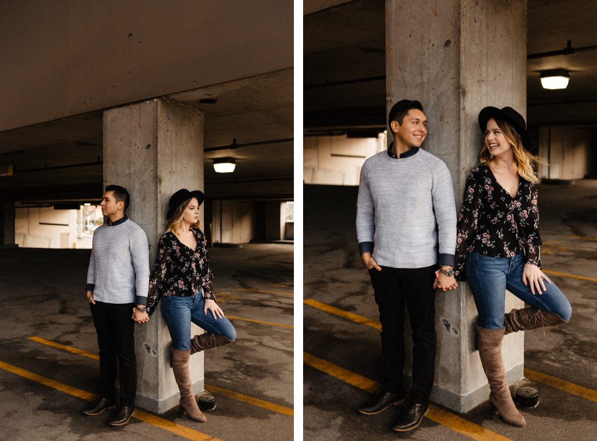 Downtown Urban Couple Session - Malina Rose Photography - D1.jpg