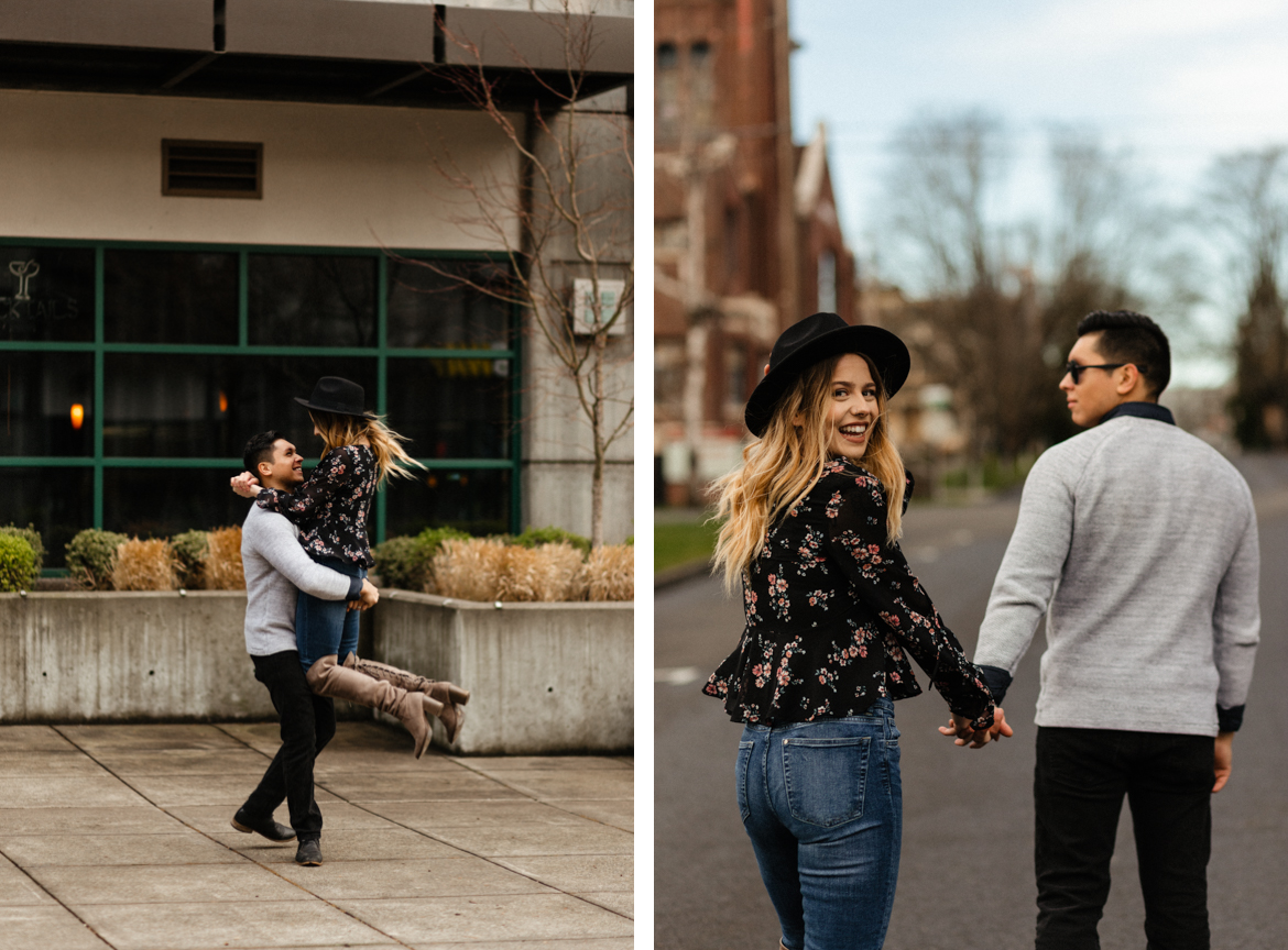 Downtown Urban Couple Session - Malina Rose Photography - D3.jpg