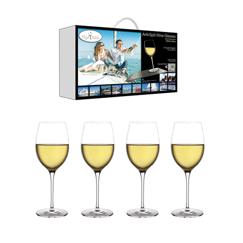 Ultra clear lead free crystal wine glasses