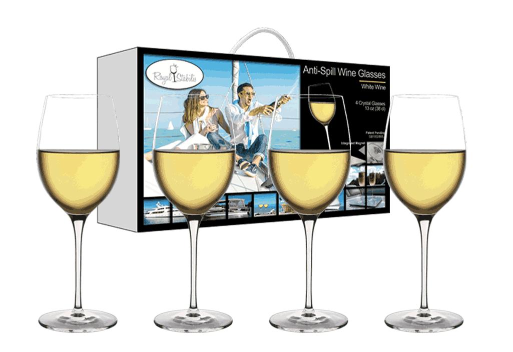 Copy of White Wine Glasses (13oz)