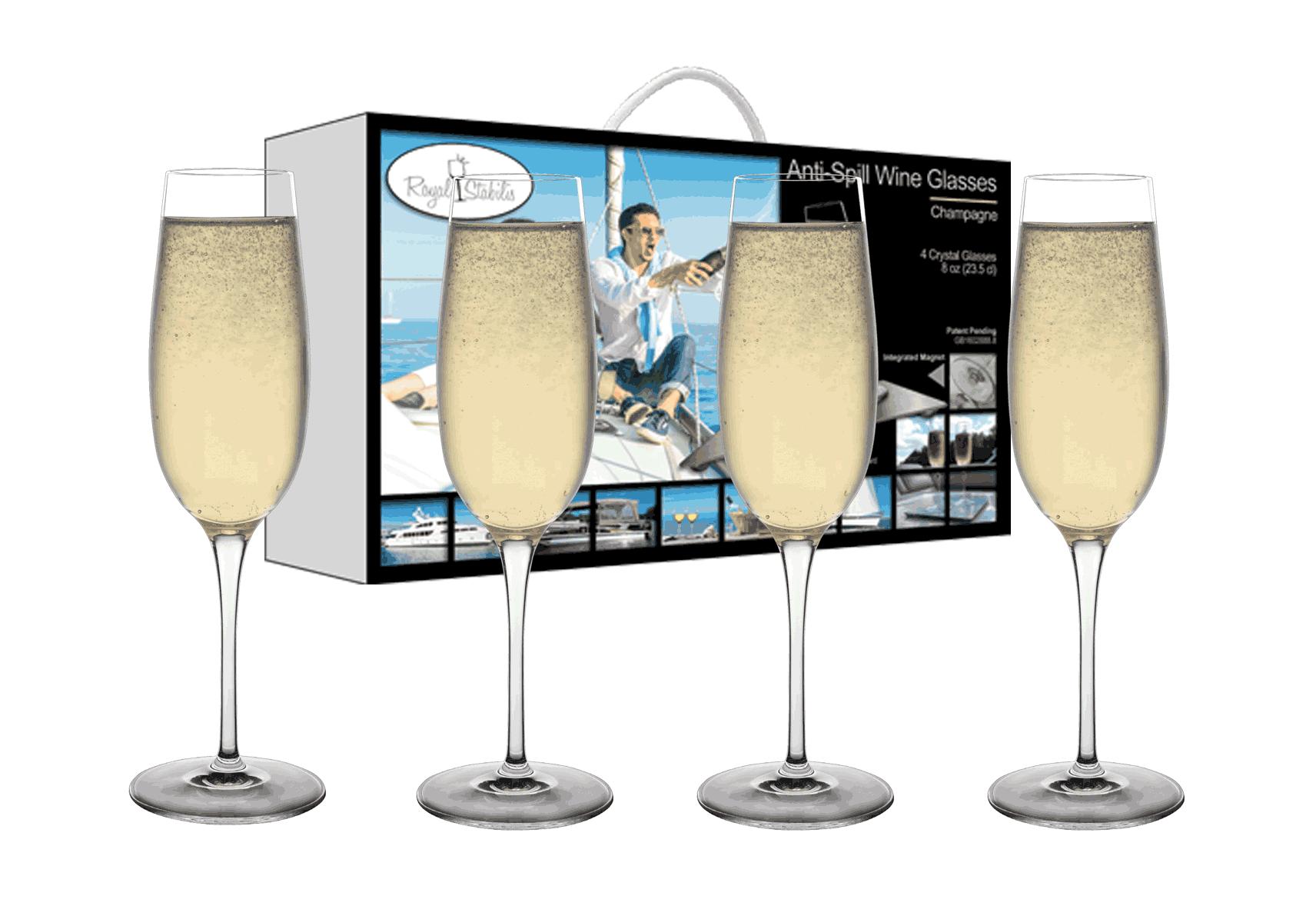 Copy of Champagne Glasses (8 oz)