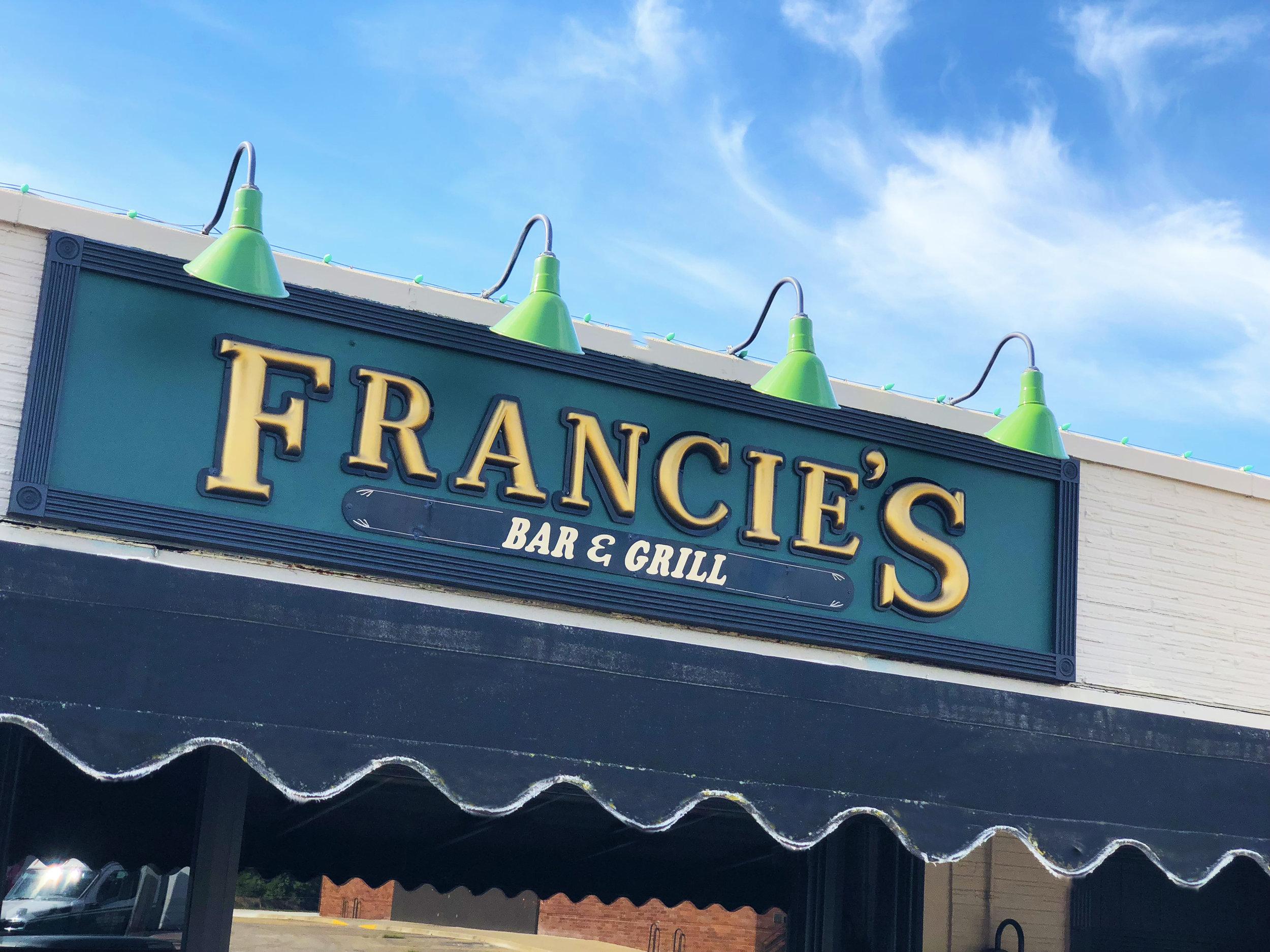 Francie's Bar & Grill || Des Moines Restaurant || Local