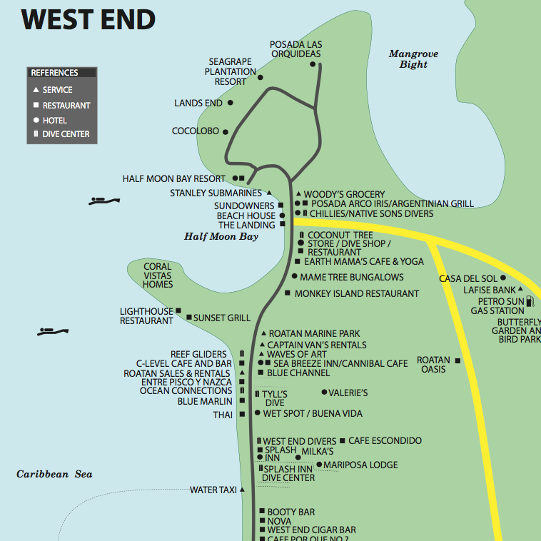 West End Maps