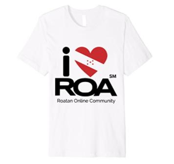 Roatan's Original I Love ROA Scuba t-shirt