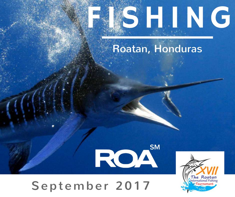 International Fishing Tournament in Roatan
