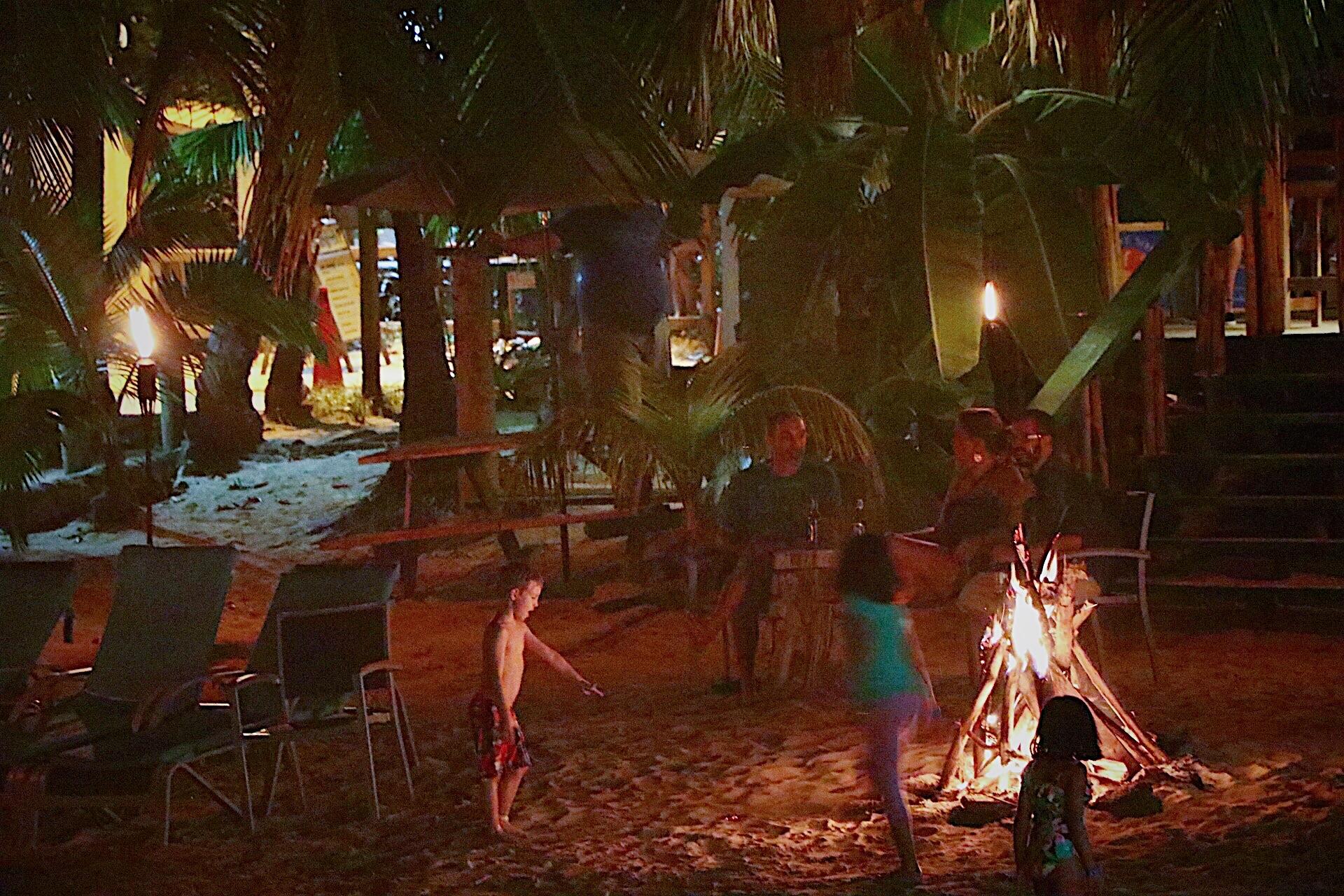 Expat Bonfire Roatan