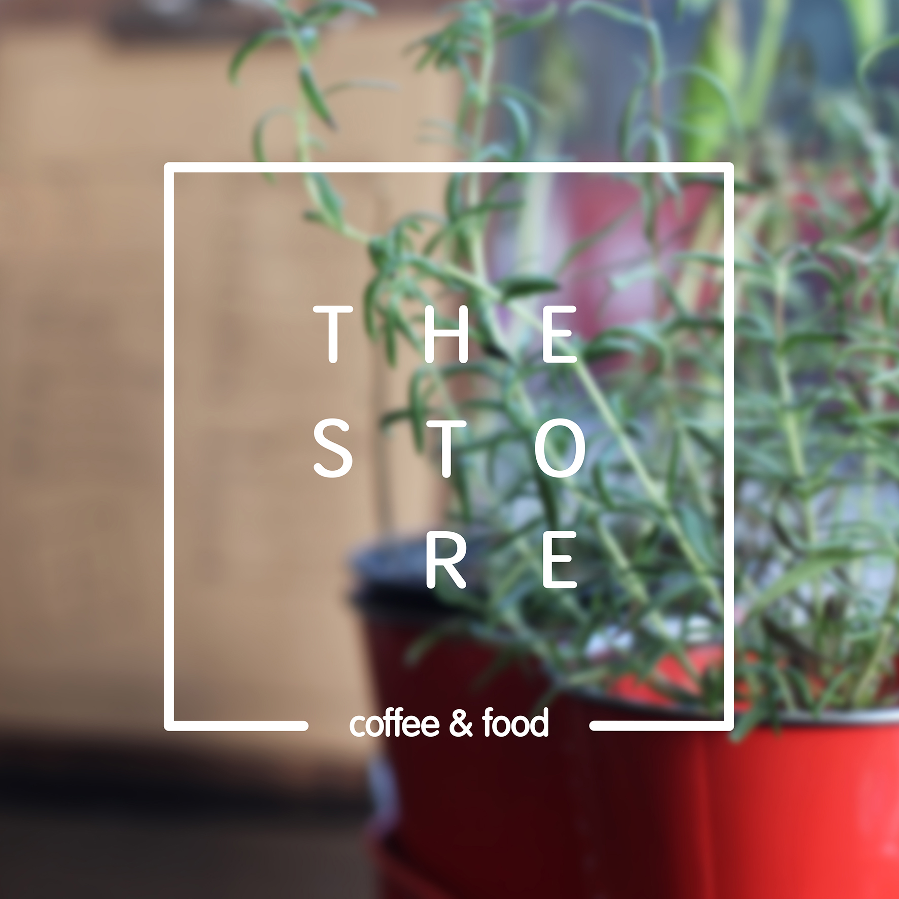 The Store, coffee & food   Identity design, London, 2015   The Store is an independent coffee shop with a goal in bringing friendly coffee and food experience in Bethnal Green. The convivial, home-like space established itself as an opportunity to bring communities and like-minded people together in a warm and family atmosphere.  The brand identity responds to the qualities of the coffee space while taking on a minimal typographic approach that remain discreet and allow the human experience to speak for itself.