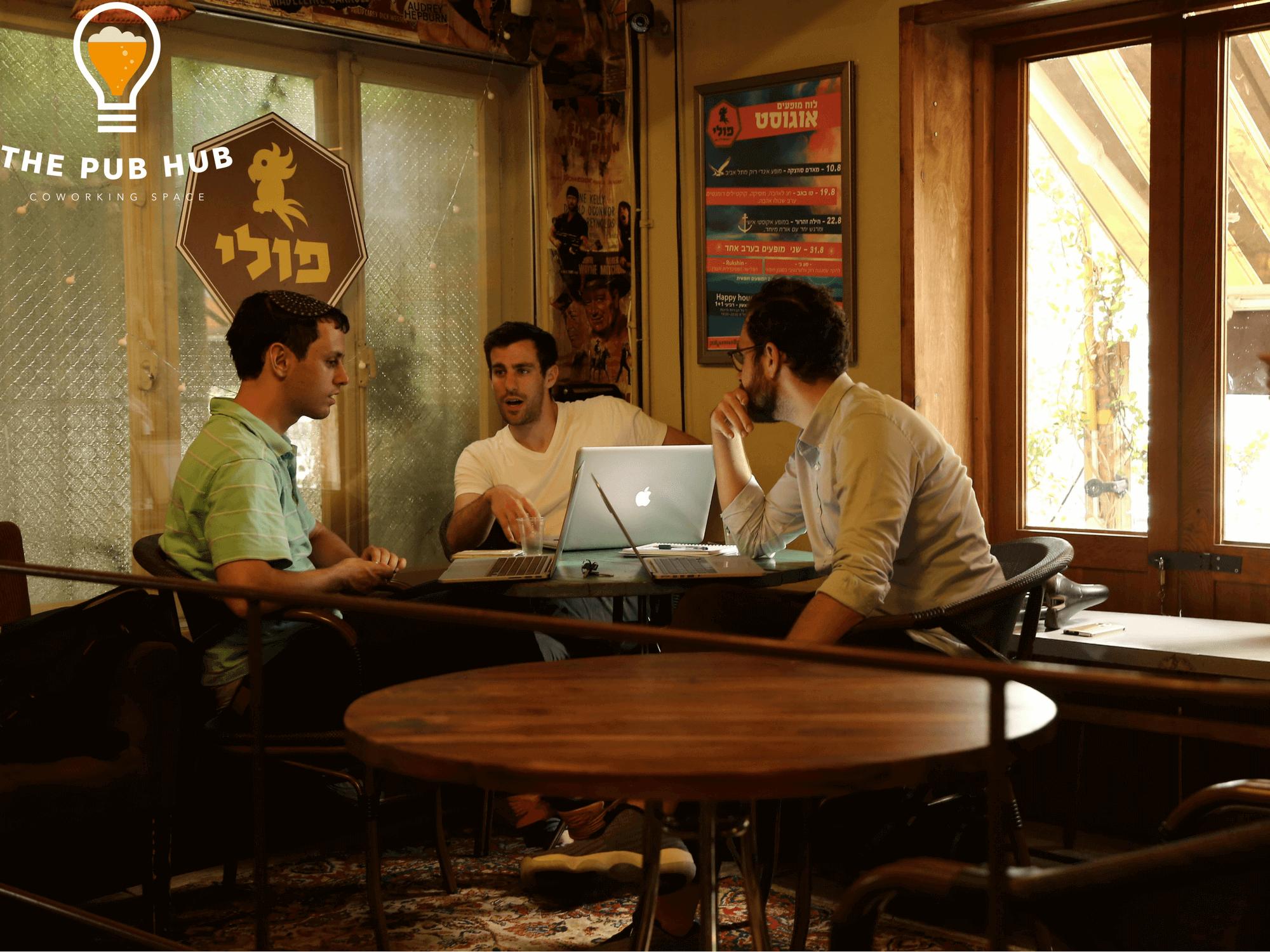Freelancers at work