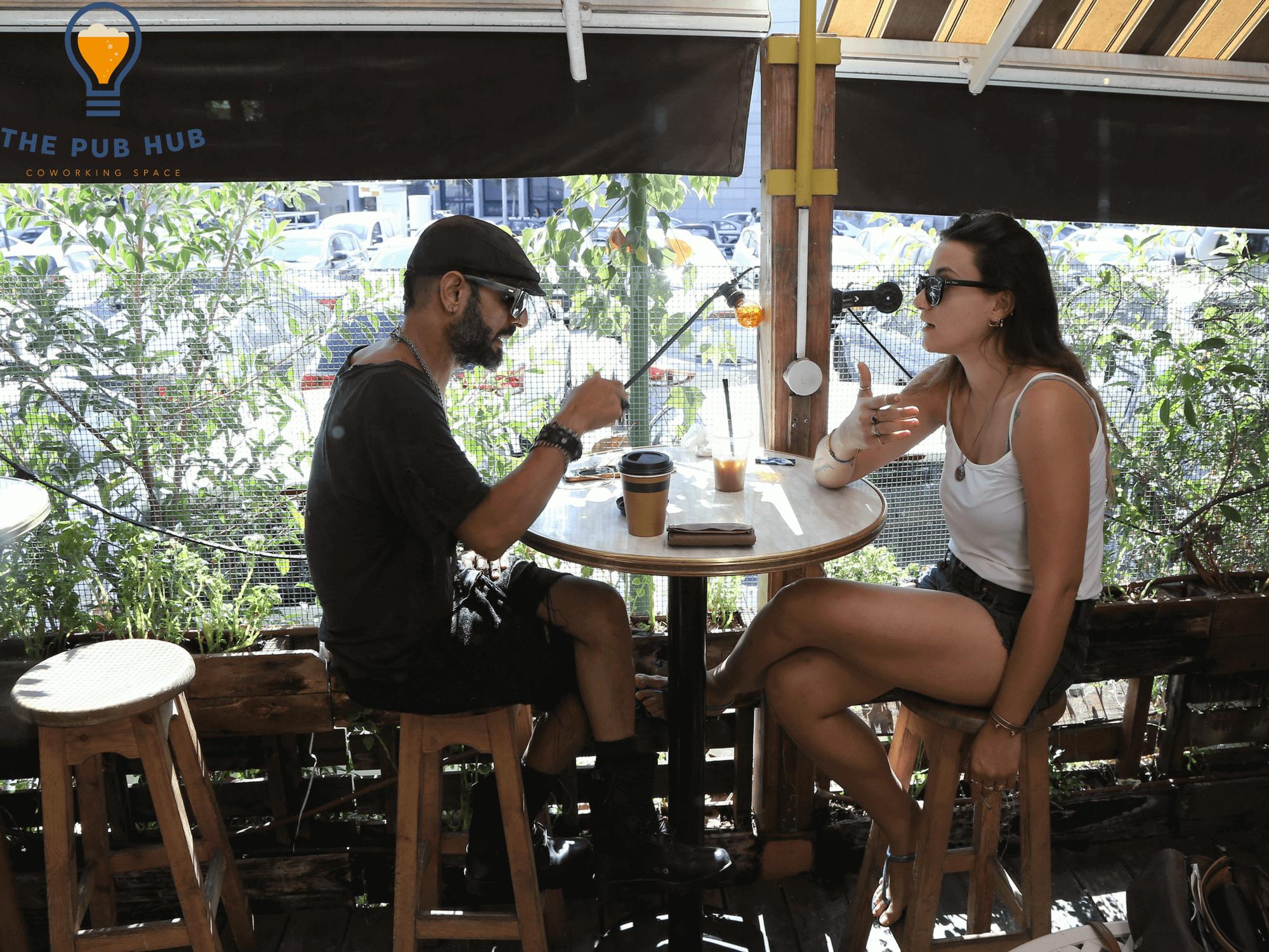 Meeting space in Tel Aviv