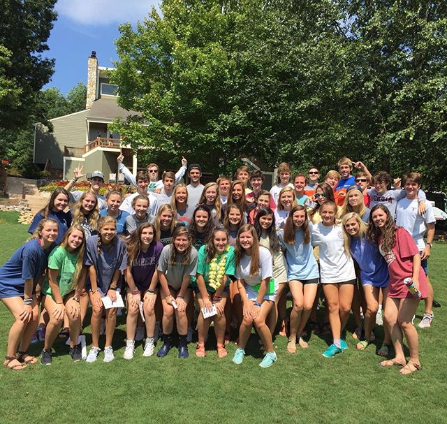 Pace well-represented this weekend as YL North Atlanta took on Sharptop Cove for Campaigners Camp. #stc #whatatime2bealive