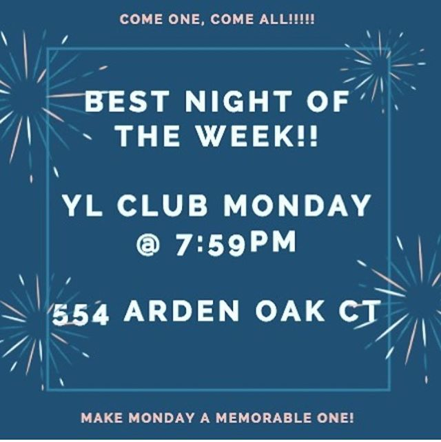 Young Life tomorrow!! Bring your friends, and let a leader know if you need a ride! (Or comment here.)
