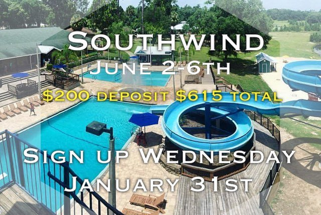 Tomorrow night at 8pm we will start our Southwind summer camp sign-up! You can sign up at www.nwatlyl.org/camp/
