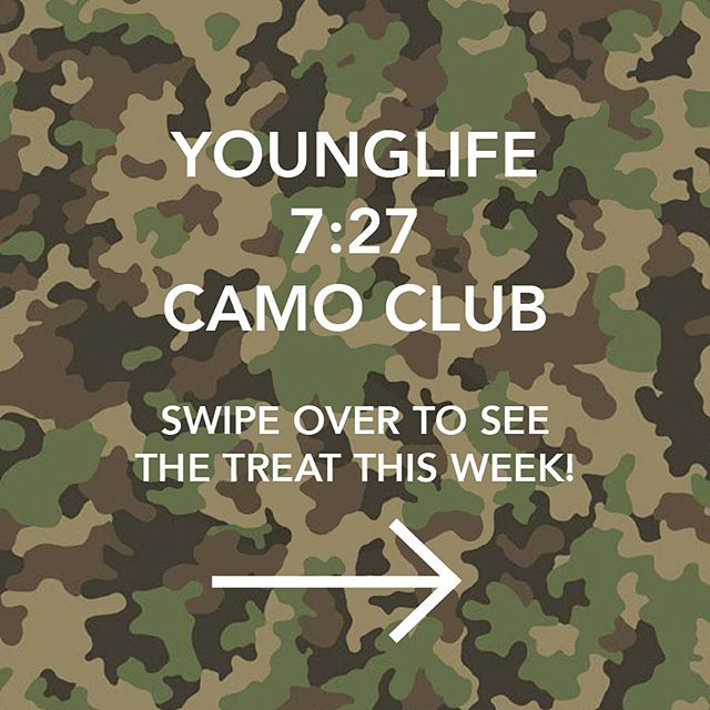 One more day! swipe over to see the treat this week. i'll give you a hint my favorite is blue💙 we'll see you tomorrow in camo. don't have camo? wear orange, be a dear, grab a duck shirt, pin a leaf on your shorts & BOOM there ya go!
