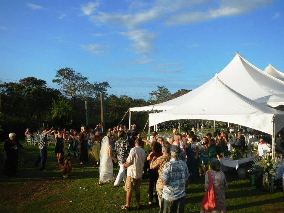 Mauka Lawn - Our most private venue located below the Pupukea-Pamalu conservation land and Waihuena gulch, this space accommodates large parties on a flat, grassy plot of land.Dimensions: 175ʻ x 85ʻ (rough estimate)Amenities: Accessible parking, composting toilets, outdoor sink and running water. Imu may be available for an additional fee.Click here for more details...