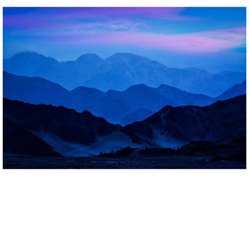 Twilight in the Himalayas