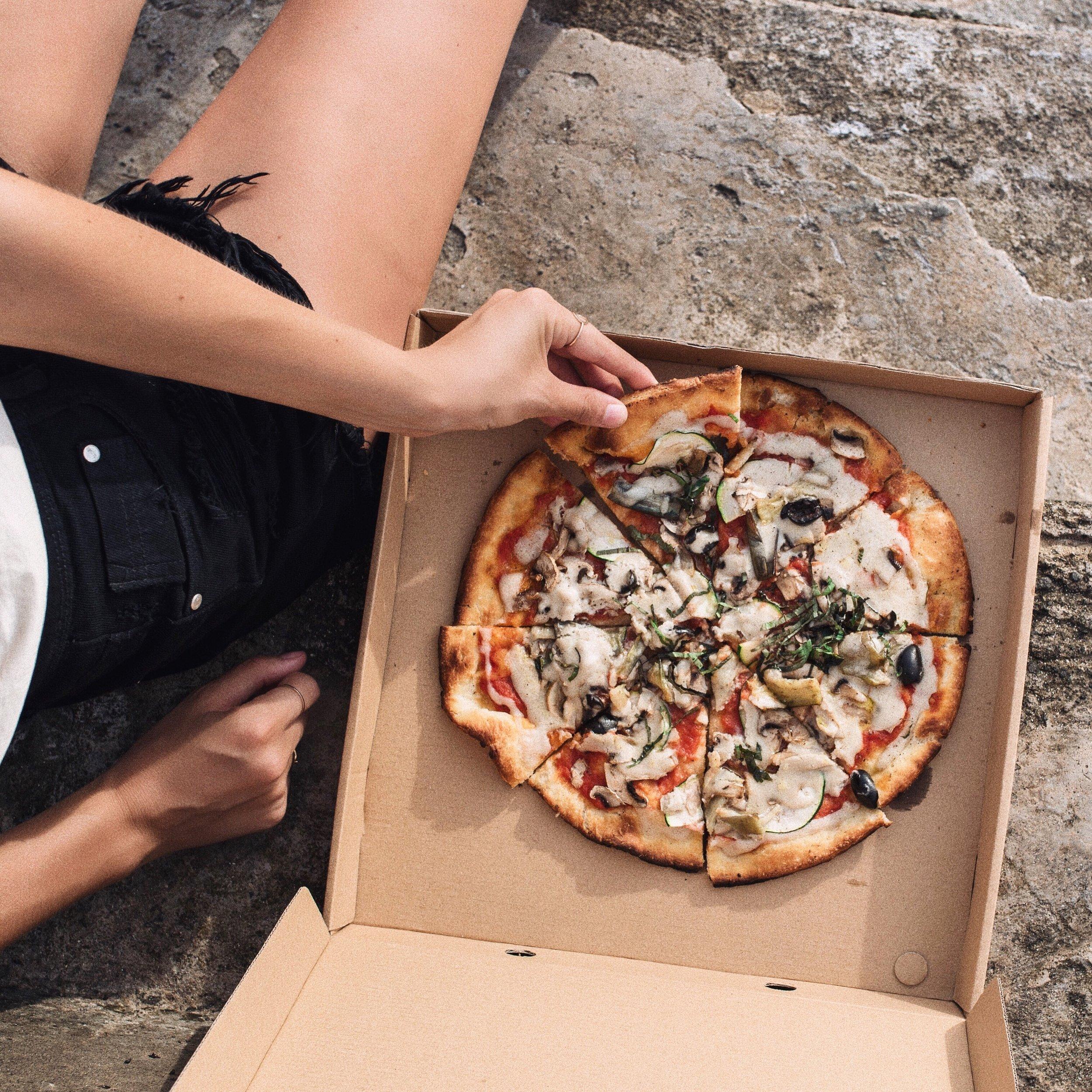 BOMBA pizzan :)