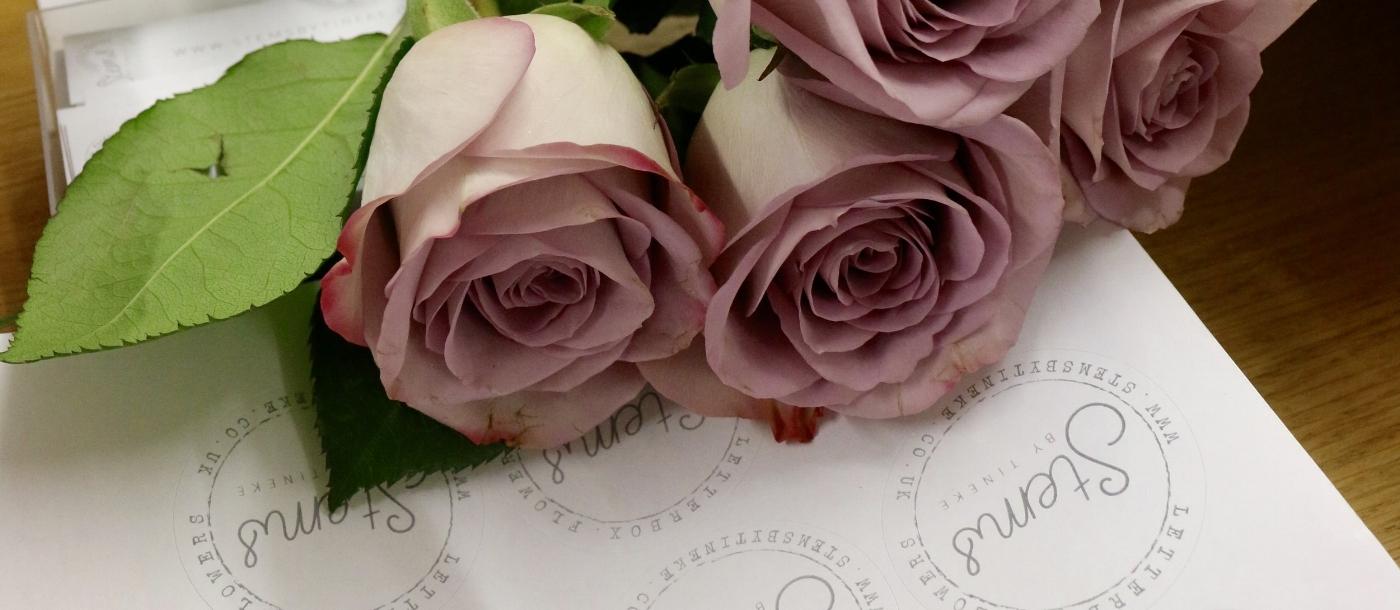 Flowers delivered through online order