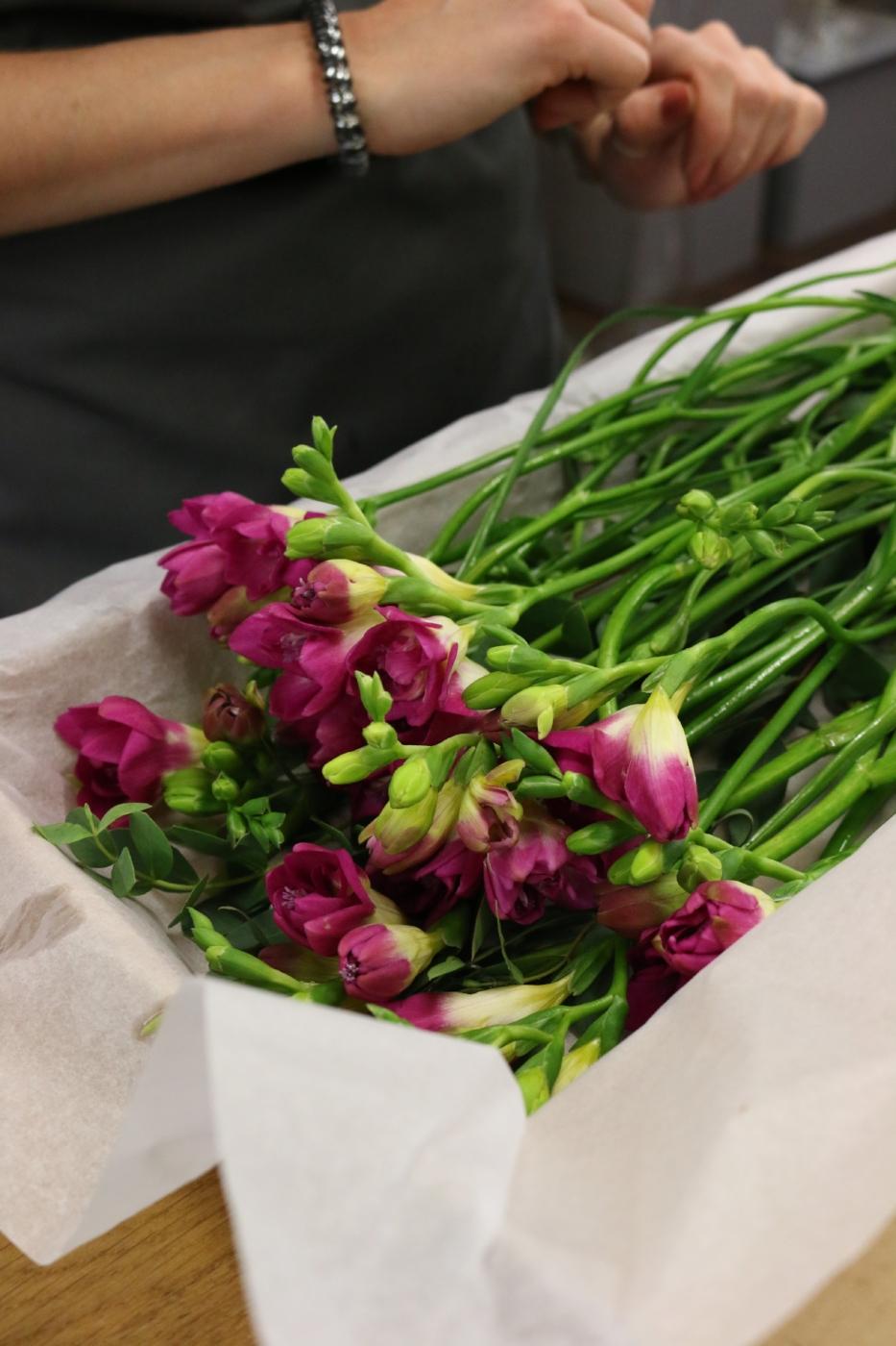 UK Flowers through the post