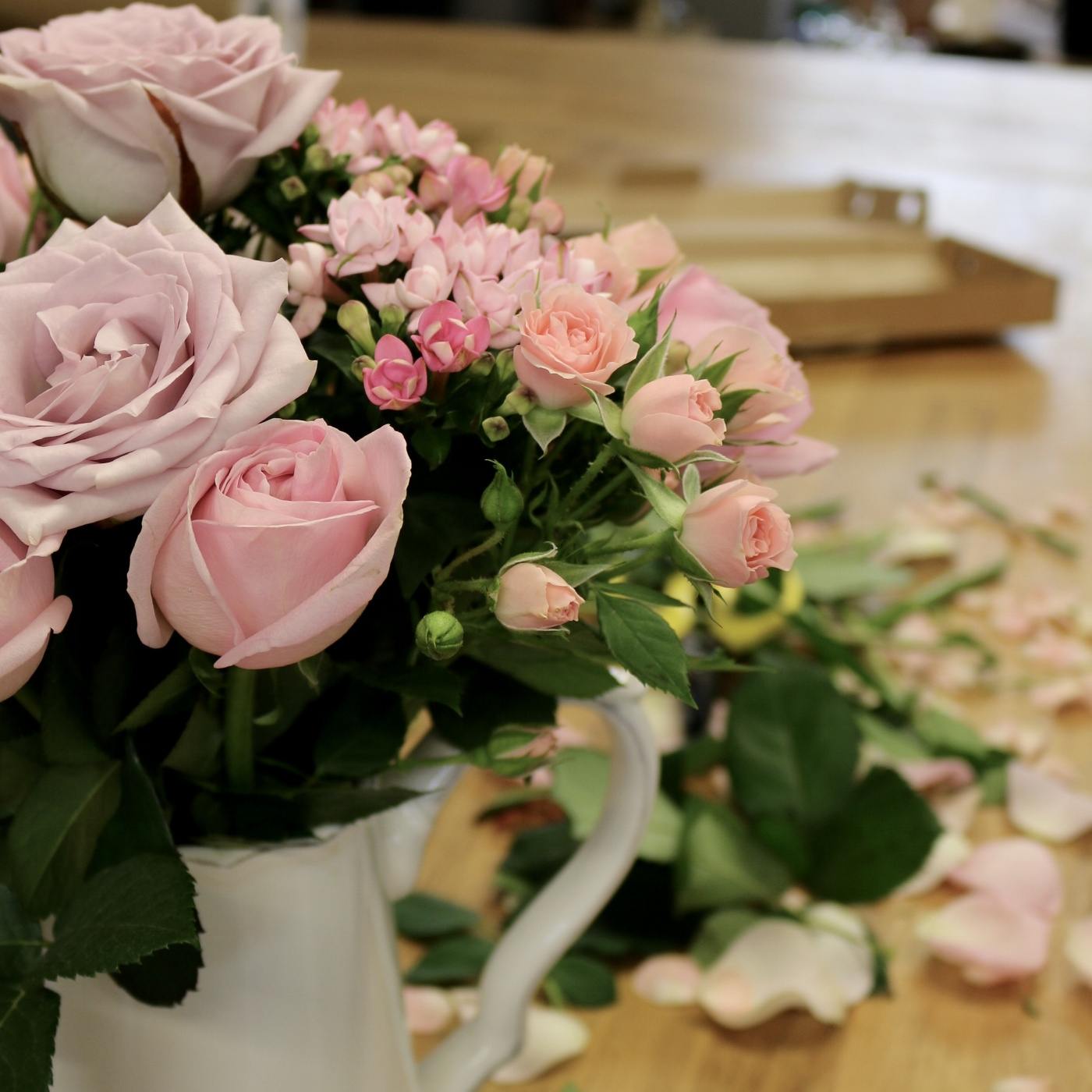 Creating beautiful bouquets from letterbox flowers