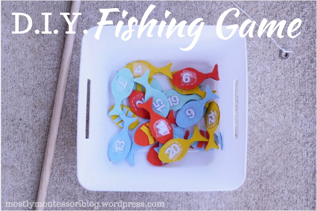 DIY fishing game