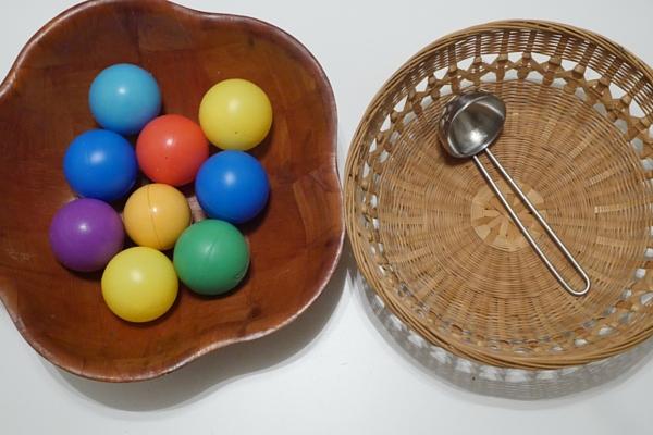 Transferring Activities   Mostly Montessori Blog
