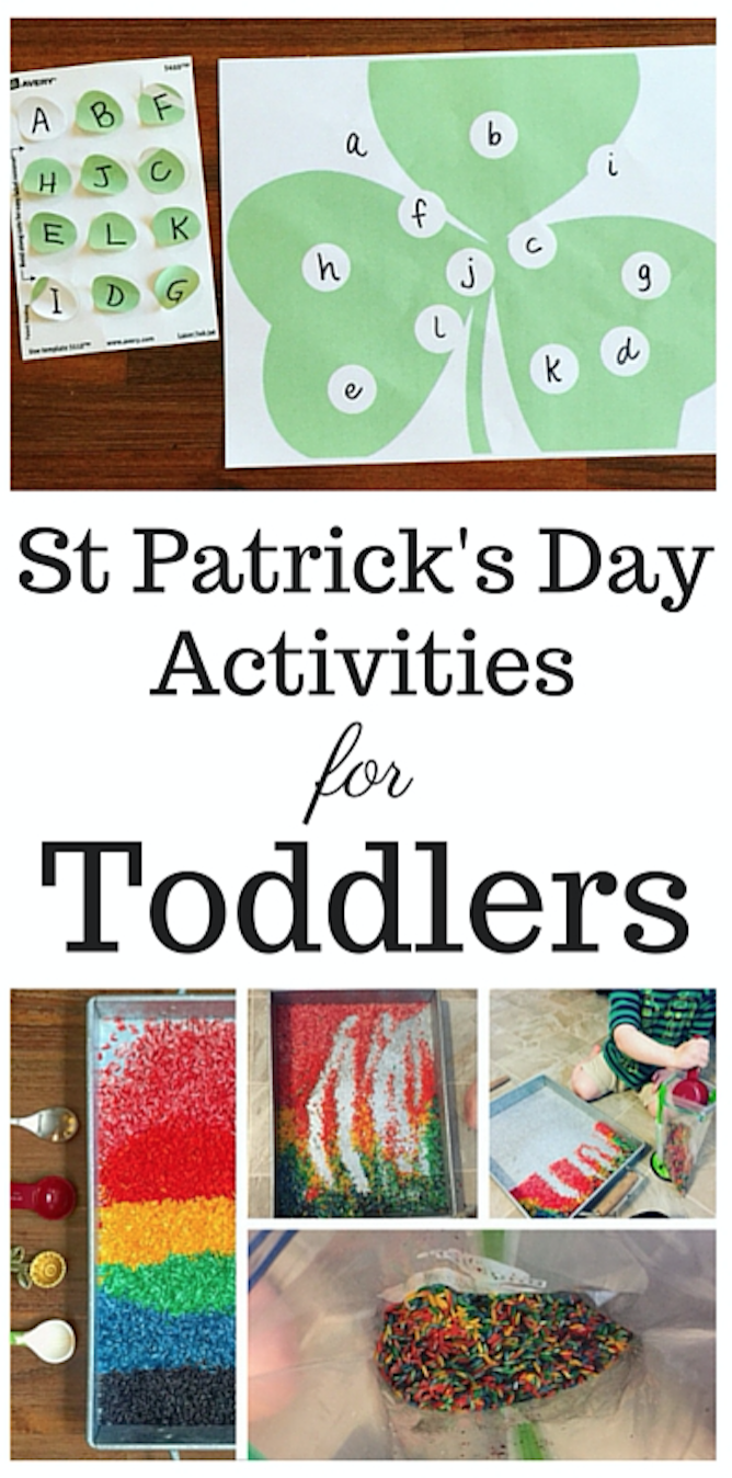 St Patrick's Day Activities for Toddlers