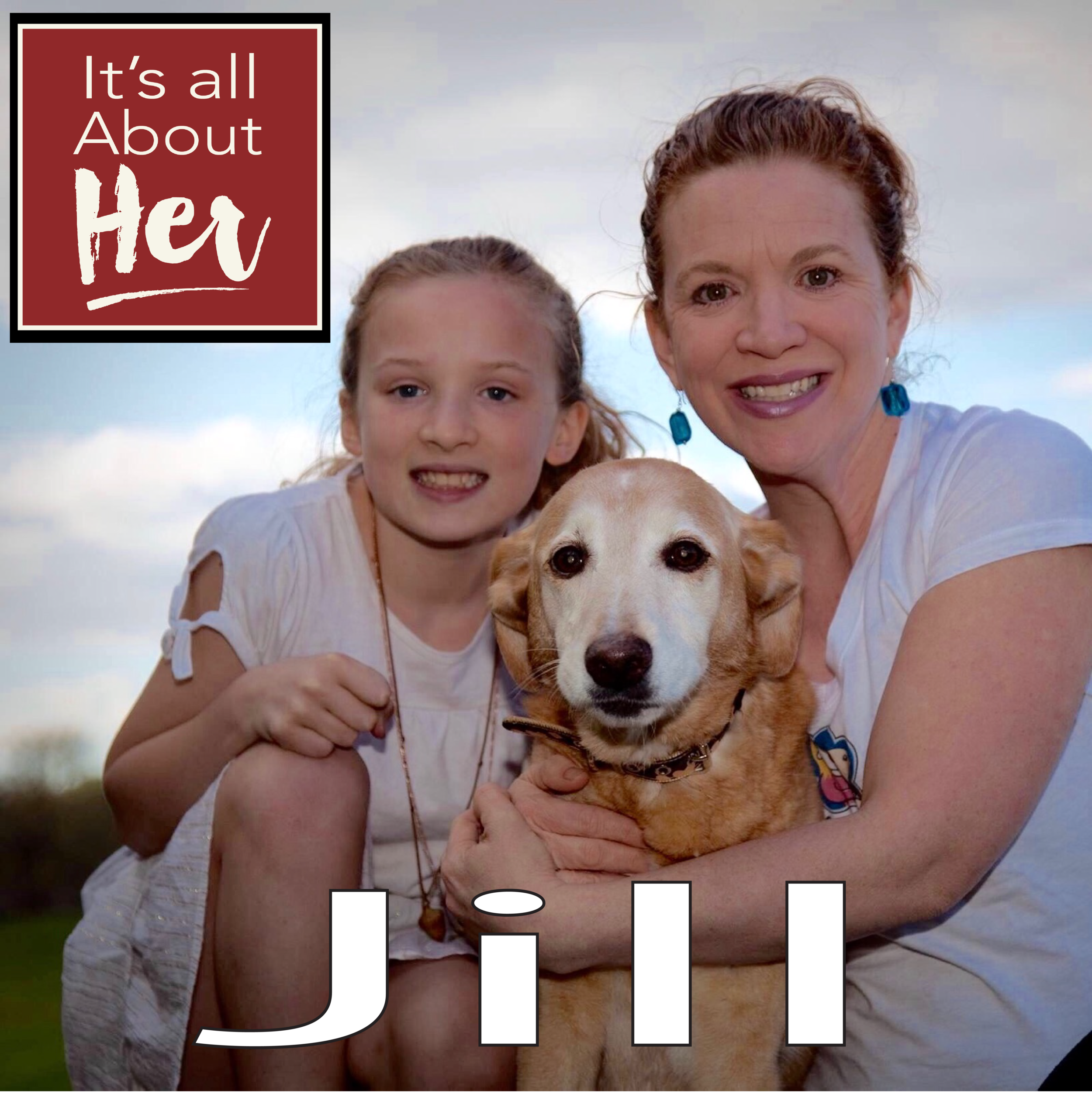 Hello everyone! In this episode of It's all about Her, you meet one of the finalist for Her Sprit's $5000 grant, Jill Hildebrandt, Owner and Founder of Amelia & Holly's.  Which is a company committed to making healthy snacks for your doggy's.  Named after her daughter, Emelia and her dog, Holly.  She is a business owner and much more, professor and performer to name a few.  We had some great fun. I hope you enjoy the conversation!