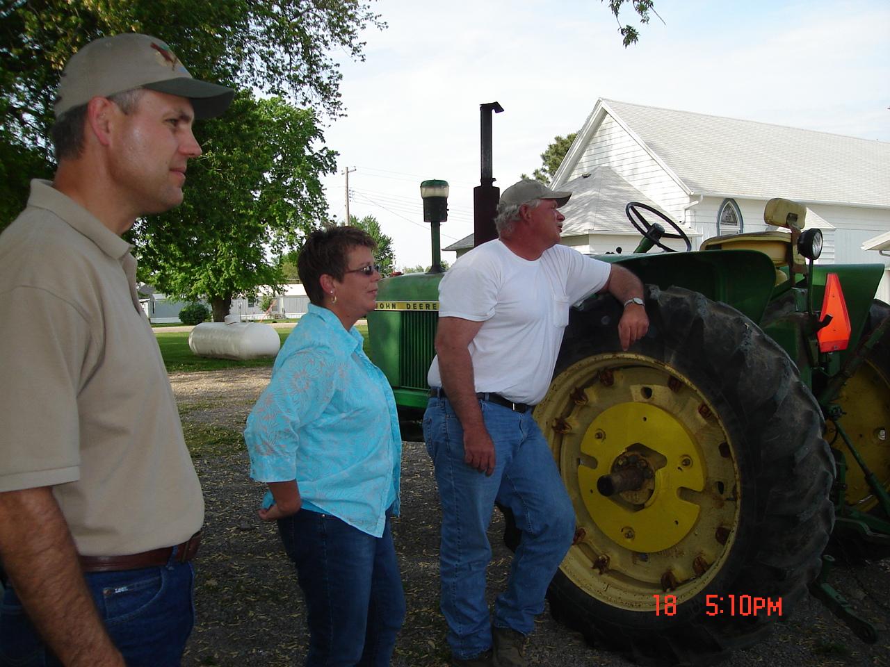 Session on Land Conservation-hay rack ride driver.jpg